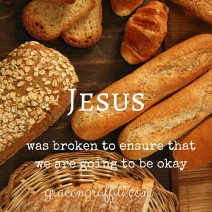 Jesus Broken Breads.