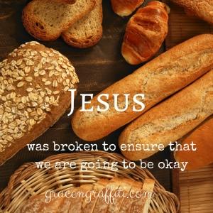 Jesus Broken Breads.
