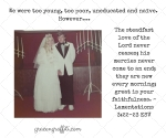 I Wouldn't Wait! Confessions of a Teen Bride…