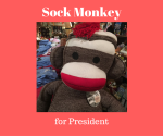 Sock Monkey for President